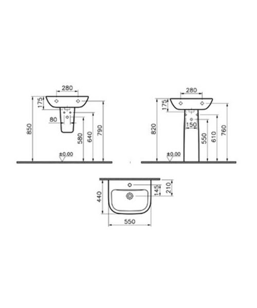 Technical drawing 26592 / 5502L003-0999