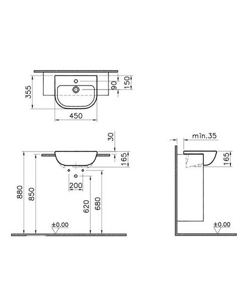 Technical drawing 26602 / 5521B003-0001