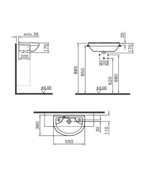 Technical drawing 26604 / 5597B003-0028