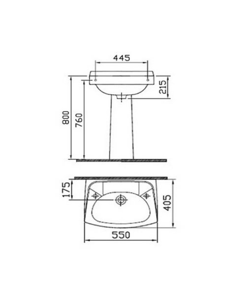 Technical drawing 26612 / 6142L003-0022