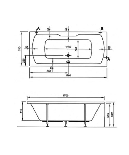 Technical drawing 26751 / 52430001000