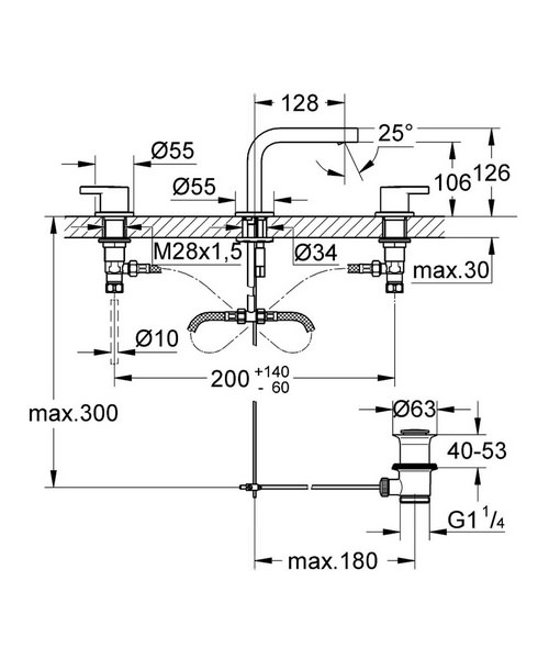 Technical drawing 26894 / 20304000