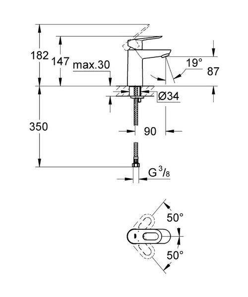 Technical drawing 26923 / 23337000