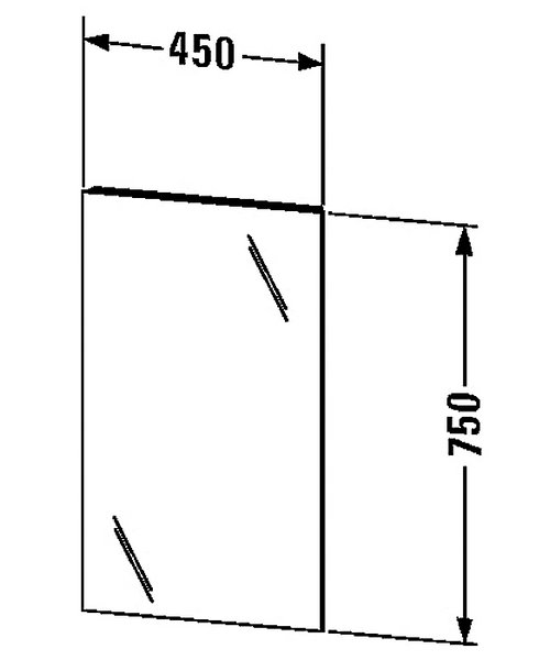 Technical drawing 27098 / KT722900000