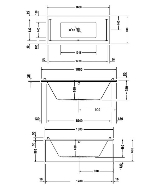 Technical drawing 27500 / 700349000000000