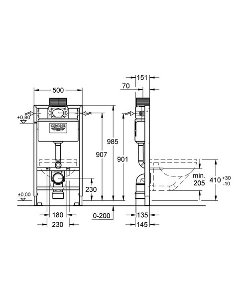 Technical drawing 28323 / 38525001