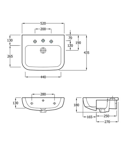Technical drawing 29368 / EC3004