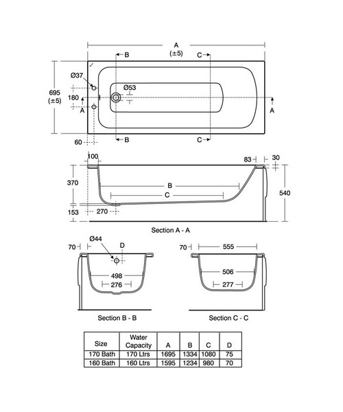 Technical drawing 29639 / E027601