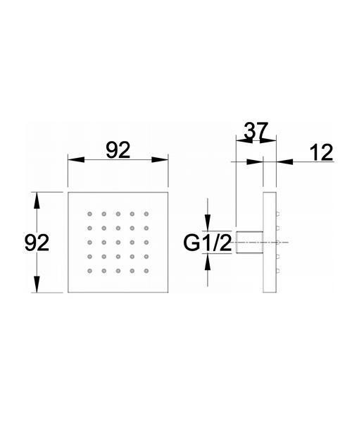 Technical drawing 29895 / BDJ002
