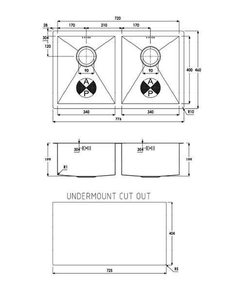 Technical drawing 29931 / AW5012