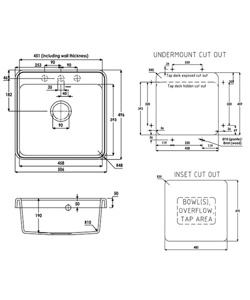 Technical drawing 29933 / AW3010