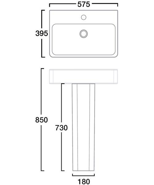 Technical drawing 30075 / SB900S