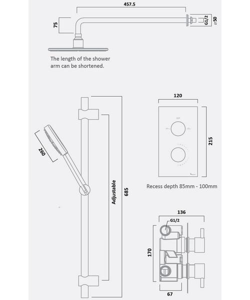 Technical drawing 30176 / SQT1611