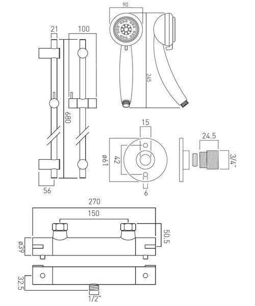 Technical drawing 30451 / PRIMABOX4/B-MF-C/P