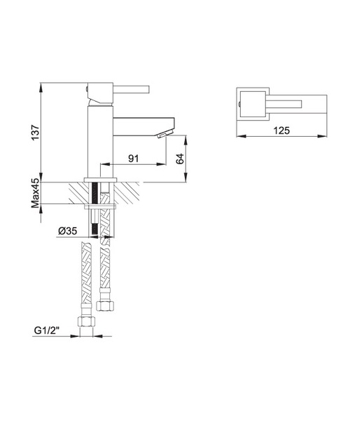 Technical drawing 30587 / SQBAS