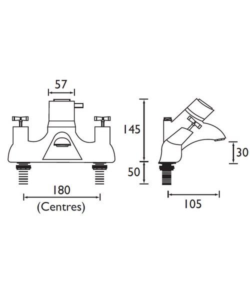 Technical drawing 3063 / VAX THBSMVO C