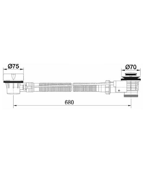 Technical drawing 30641 / BP105