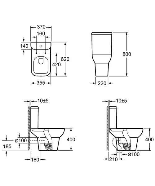 Technical drawing 30645 / C1010C