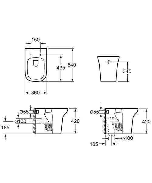 Technical drawing 30751 / CB10134