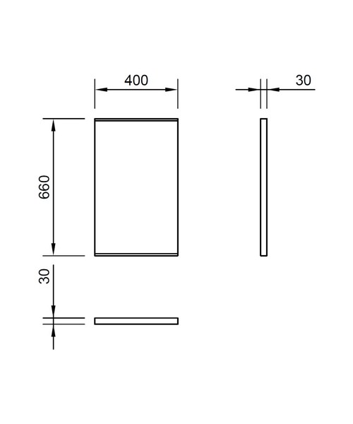 Technical drawing 30761 / LU4066DIM