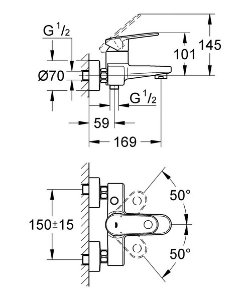 Technical drawing 31012 / 33553002