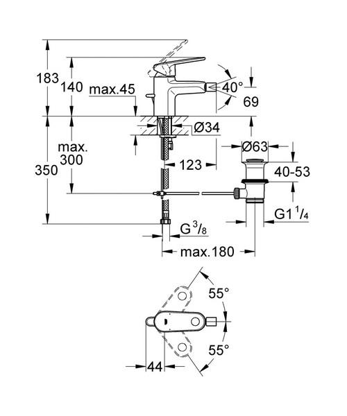 Technical drawing 31016 / 33241002