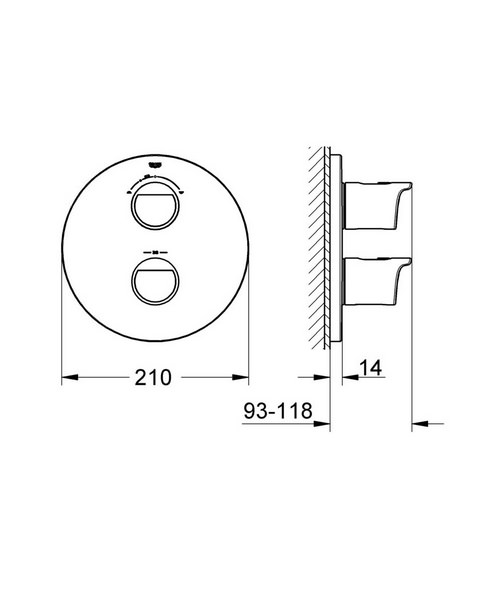 Technical drawing 31049 / 19355001