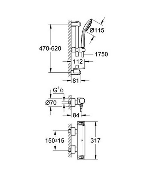 Technical drawing 31055 / 34195001