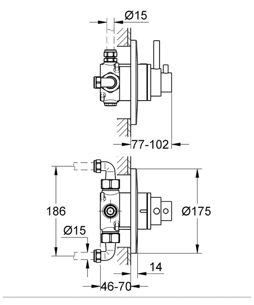 Technical drawing 31092 / 34224000