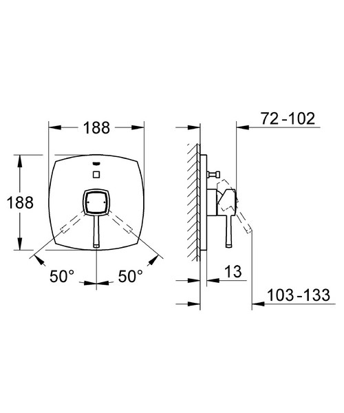 Technical drawing 31164 / 19920000
