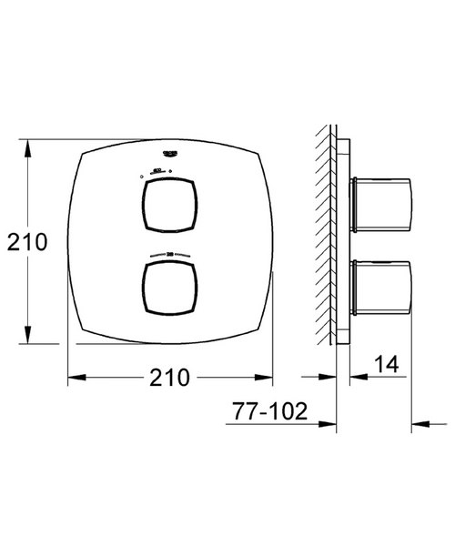 Technical drawing 31168 / 19934000