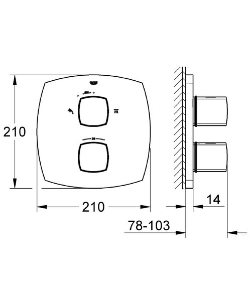 Technical drawing 31174 / 19948000