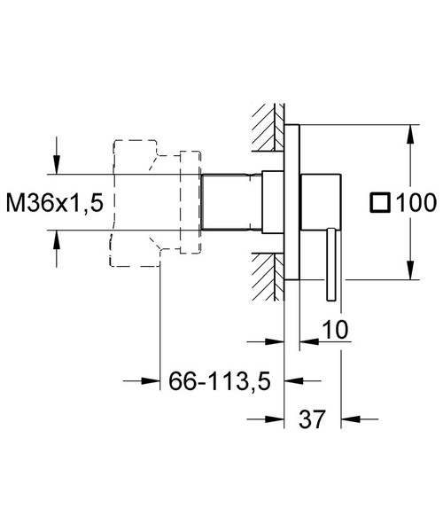 Technical drawing 31180 / 19590000