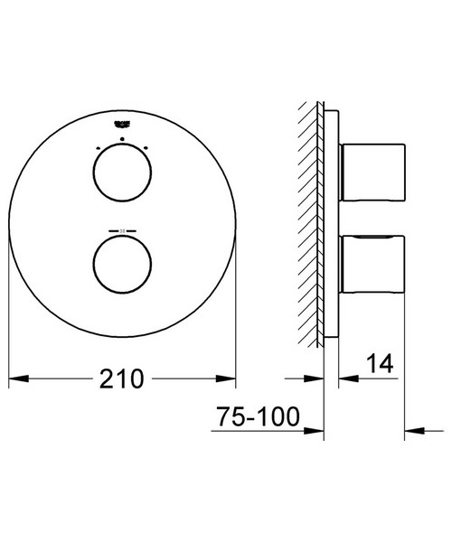 Technical drawing 31182 / 19468000