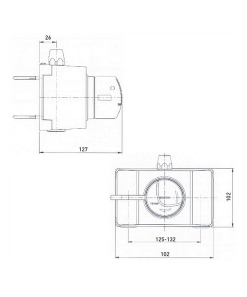 Technical drawing 32019 / OP TS1503 SCL C