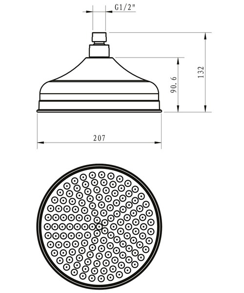 Technical drawing 32179 / FH08C
