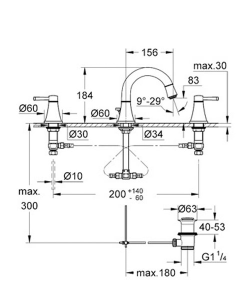 Technical drawing 32235 / 20417IG0