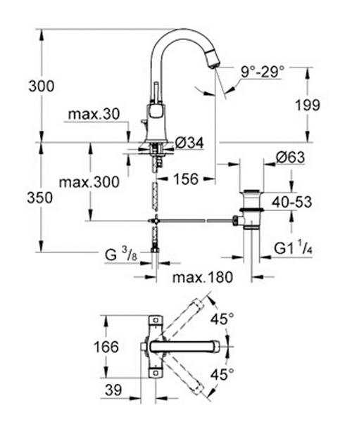 Technical drawing 32236 / 21107IG0