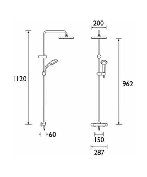 Technical drawing 3237 / CR SHXDIVFF C