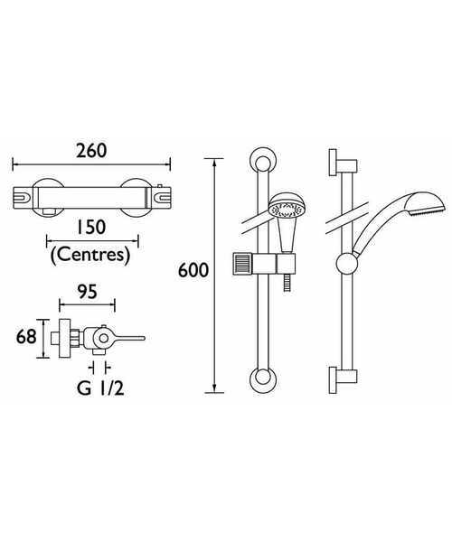 Technical drawing 3245 / DUL SHXARFF C
