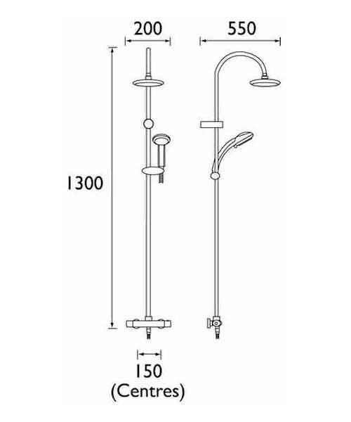 Technical drawing 3253 / OL SHXDIVFF C