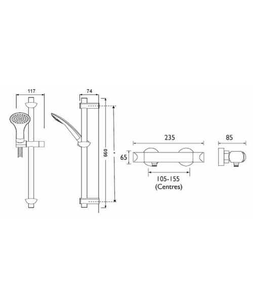 Technical drawing 3256 / OR2 SHXSM C