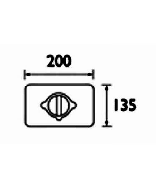 Technical drawing 3322 / KIT UNI SQR1 C