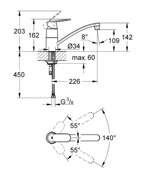 Technical drawing 33329 / 32842000