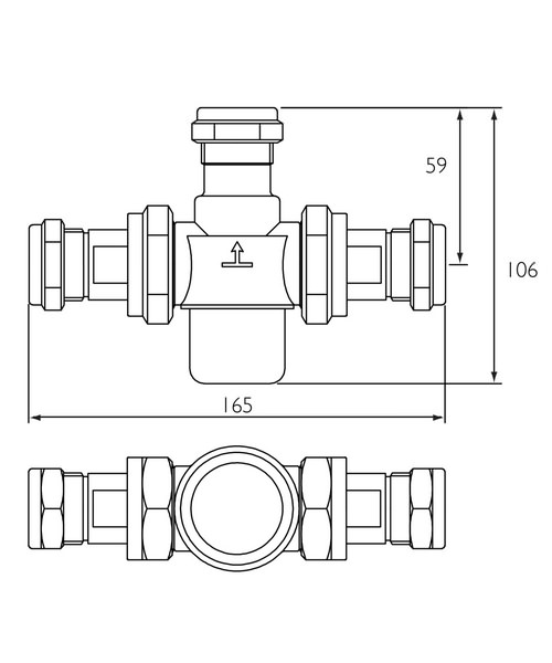 Technical drawing 3332 / MT753CP