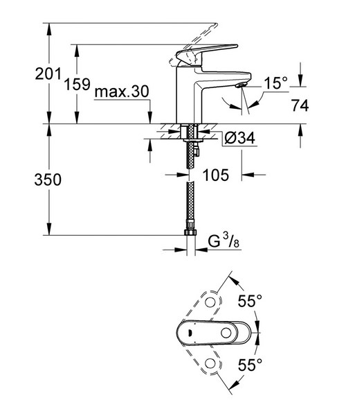 Technical drawing 33332 / 33163002