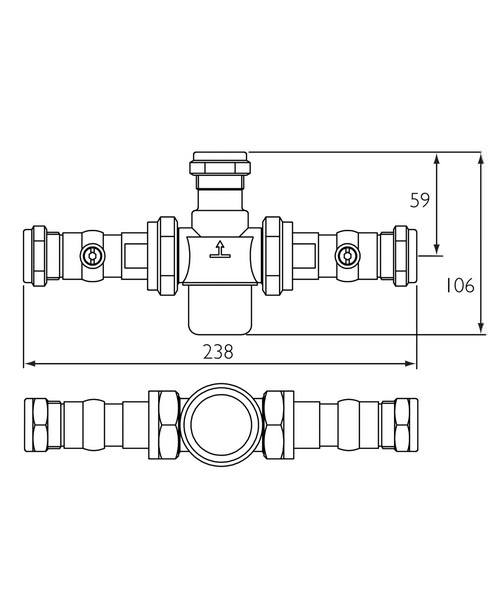 Technical drawing 3333 / MT753CP-ISO