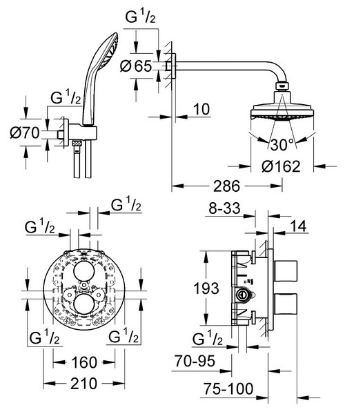 Technical drawing 33343 / 34399000