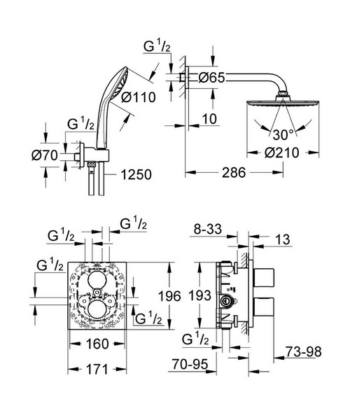 Technical drawing 33344 / 34408000