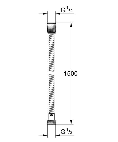 Technical drawing 33345 / 28143KS0